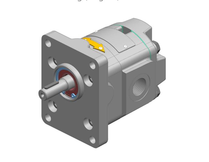 KRACHT齿轮泵KF0系列操作说明样本
