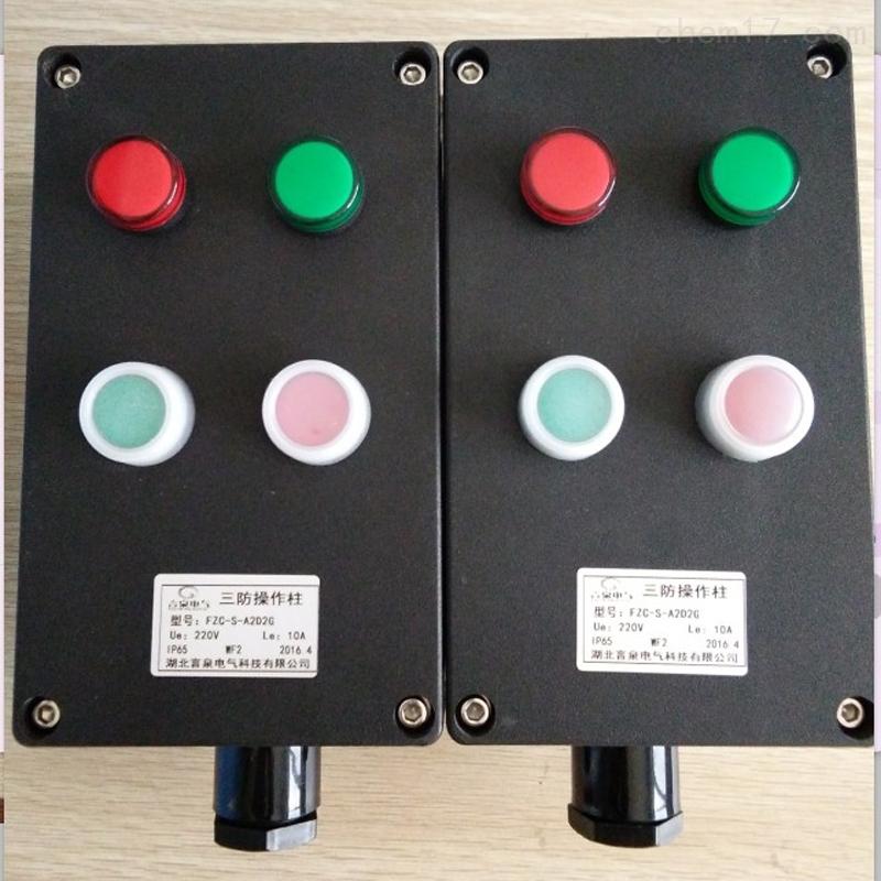 FZC-S-A2D2G挂式户外防水防腐三防控制箱