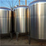 新订18立方不锈钢加热保温储奶罐全新未使用