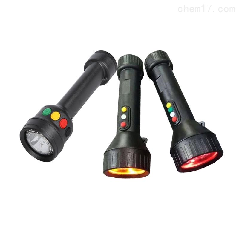BJQ3101多功能充电信号灯4色强光巡检电筒