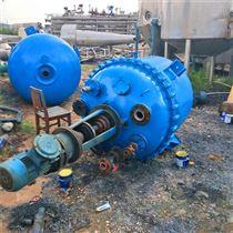 低价供应二手20立方搪瓷电加热反应釜