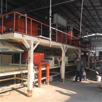 全自动新型复合保温建筑模板设备