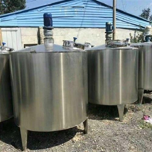 闲置二手300升不锈钢搅拌罐材质304