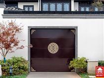 中式铝合金排挂车库门