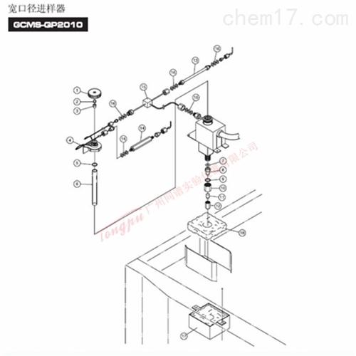 岛津GCMS-QP2010 宽口径进样器WBI-2010备件