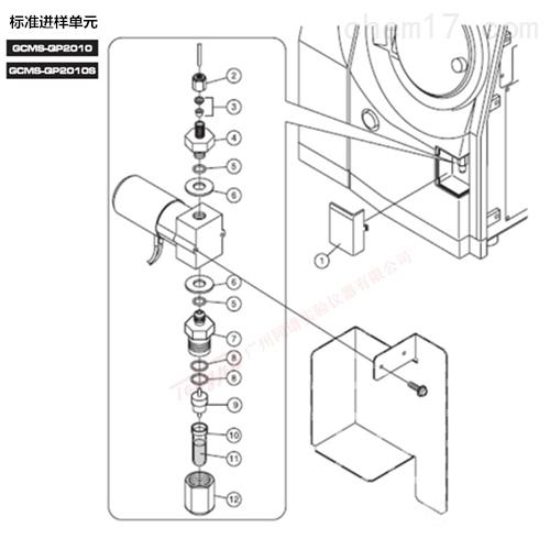 岛津GCMS-QP2010(S) 标准进样单元备件