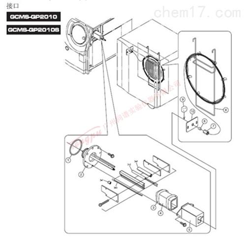 岛津GCMS-QP2010(S) 接口元件