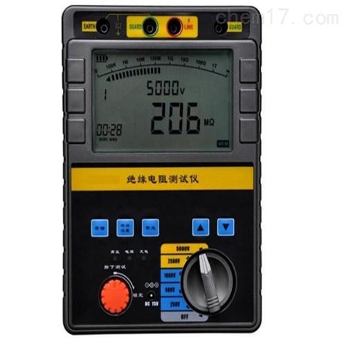 数字绝缘电阻表(兆欧表2500V)