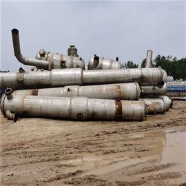 8处理二手mvr蒸发器6吨3165材质