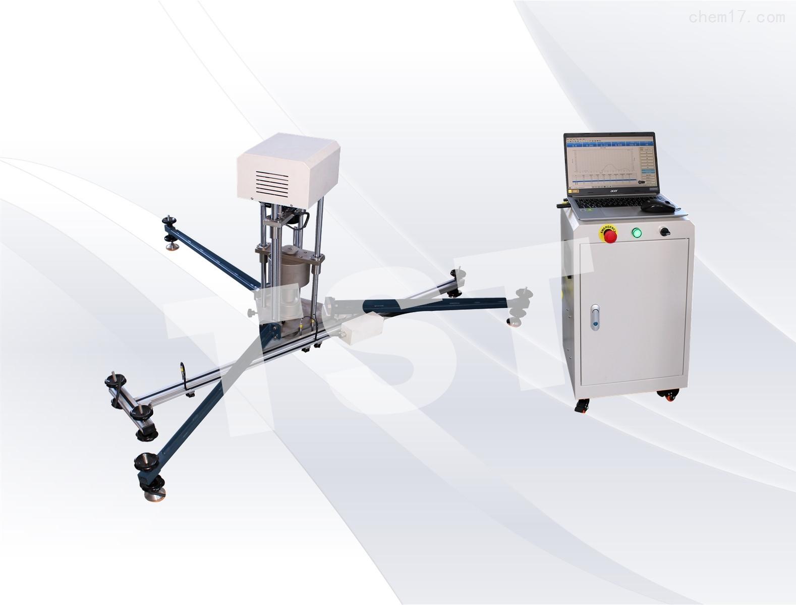 衝擊吸收與垂直變形檢測儀