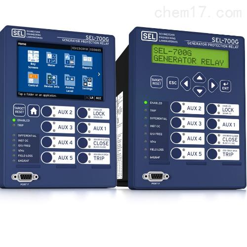 美国SEL-700G发电机保护继电器