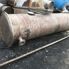 供应二手304材质不锈钢列管冷凝器,,,