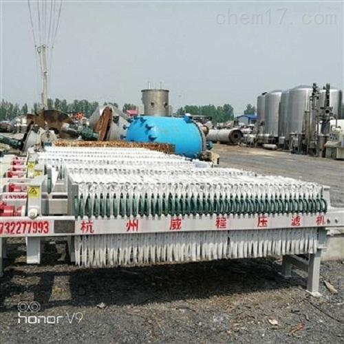 出售二手180平方板框压滤机现货供应