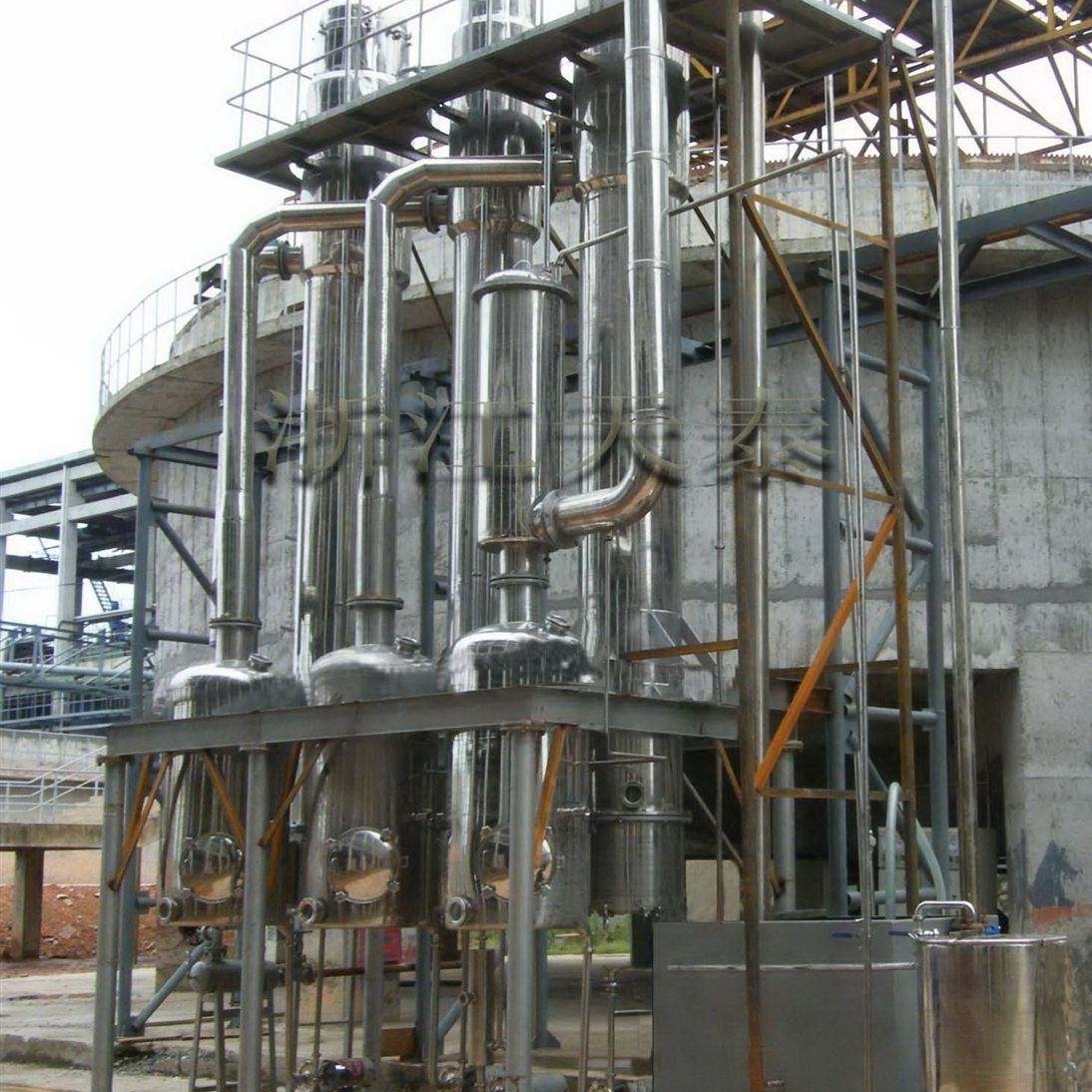 二手6吨MVR节能蒸发器现货