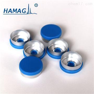 HM-1221蓝色易拉铝塑盖/13mm