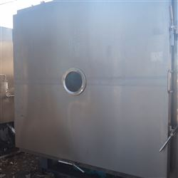 二手5平方冷冻干燥机