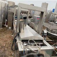 二手4.5米全自动电加热油炸生产线