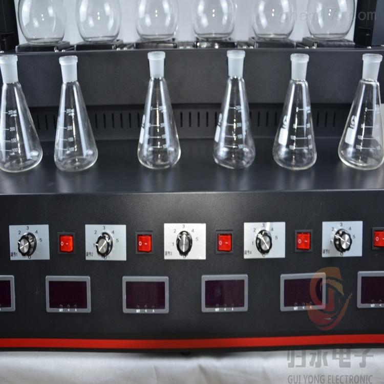 液晶触摸全自动智能蒸馏仪6组价格