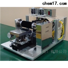 实验原型的液晶面板台式摩擦装置