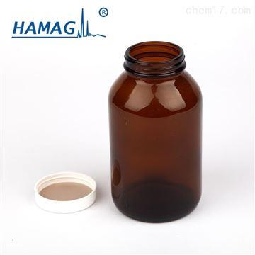 HM-GKPZ-500样品瓶棕色广口瓶500ml 含盖+PTFE 垫