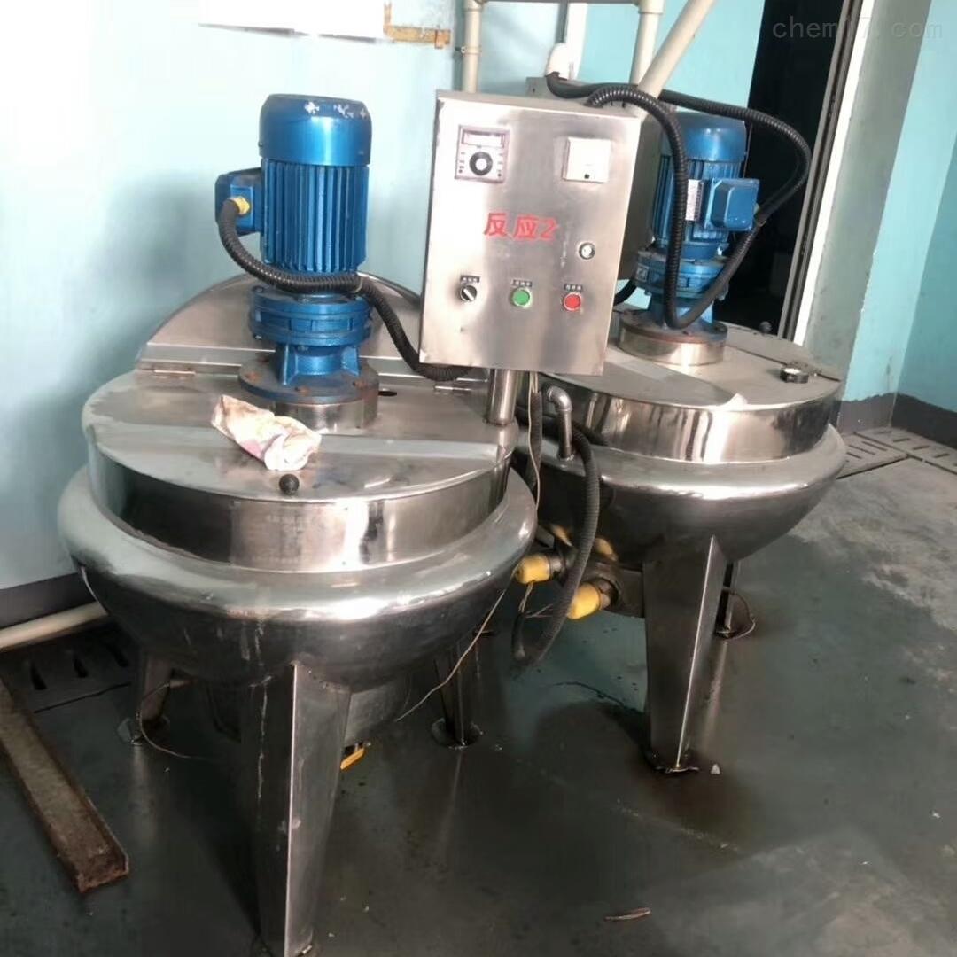 供应二手300升不锈钢夹层锅现货价格便宜