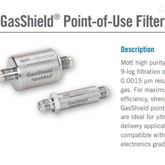 过滤器GSP3752FF11美国Mott过滤器Mott气体过滤超高纯应用