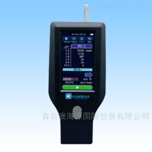 日本Kanomax粒子计数器尘埃计3889型测量仪