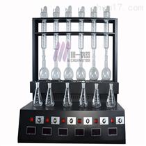 北京多功能蒸餾儀CYZL-6C氨氮、揮發酚