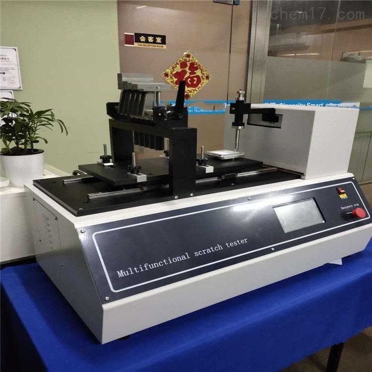 多功能刮擦测试仪刮擦原理