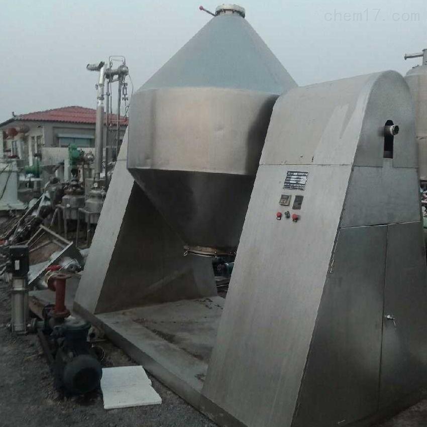 供应二手4000升搪瓷双锥干燥机现货