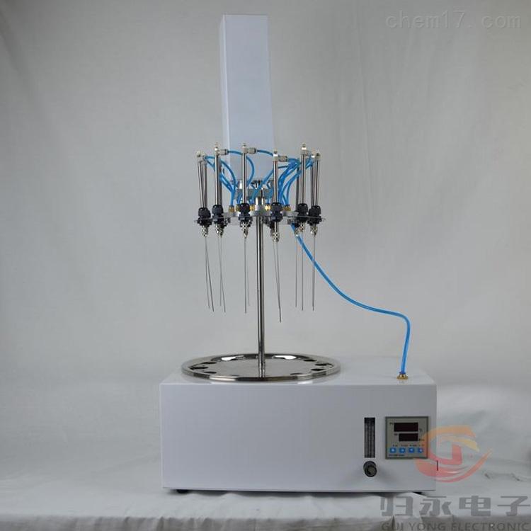 南京液晶触摸24通道氮吹仪价格GY-DYDCY
