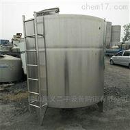 回收二手10立方不锈钢电加热搅拌罐