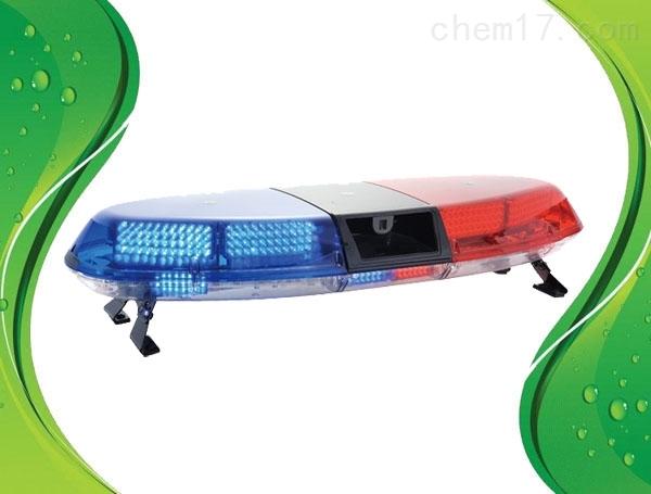 红蓝爆闪喊话器长排灯LED爆闪车顶红蓝警灯