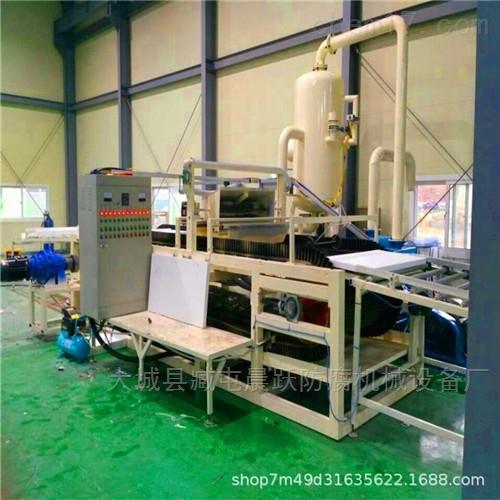 防火硅质板生产设备生产线正确操作过程
