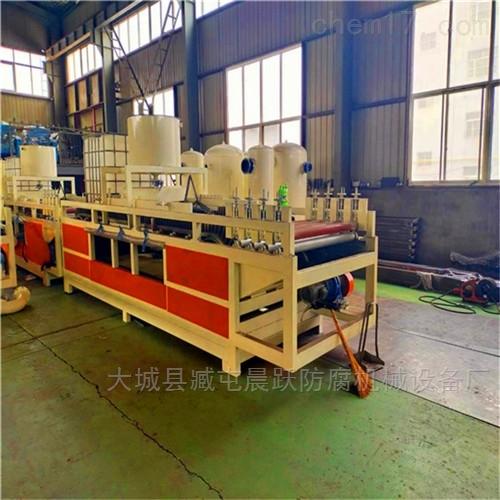 厂家热销硅质聚苯板设备技术特点