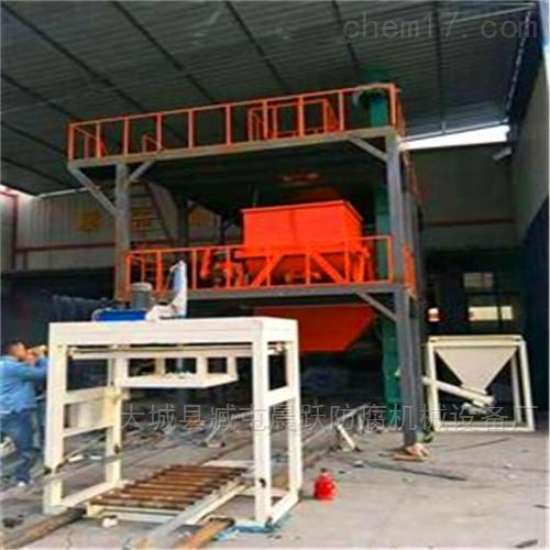轻匀质聚苯防火板设备主要生产途径