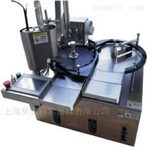 桌面型全自动灌装加塞轧盖一体灌装机
