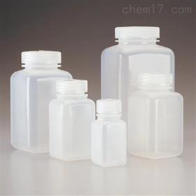 Nalgene 广口方形聚丙烯共聚物瓶