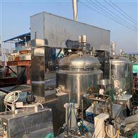二手1300升 全自动蒸汽加热真空乳化机