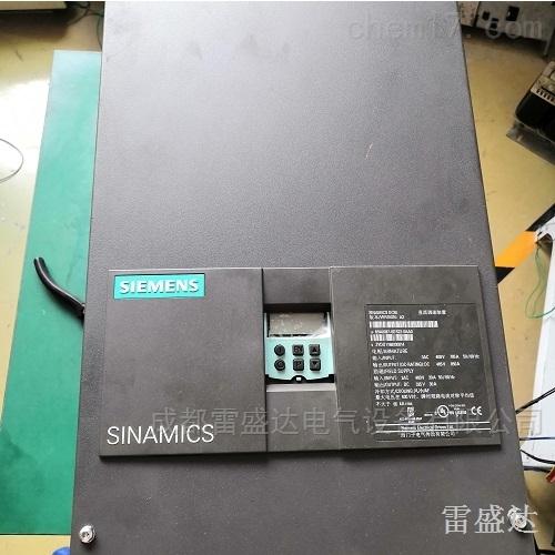 西门子直流调速器启动报F60004/F60005维修