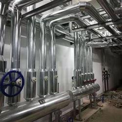 不锈钢硅酸铝外护保温安装队