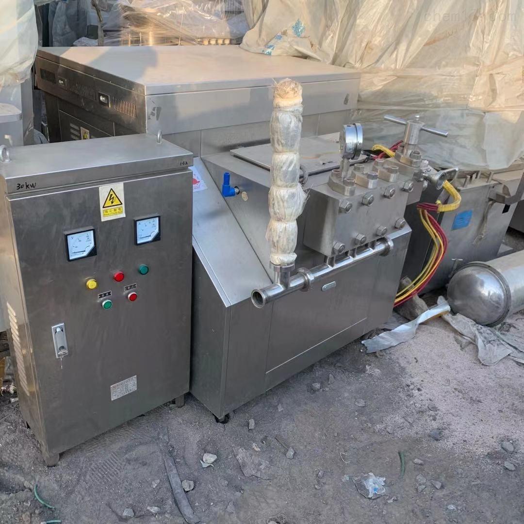 二手申鹿2吨 40公斤压力均质机