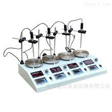 HJ-4B数显四联磁力加热搅拌器