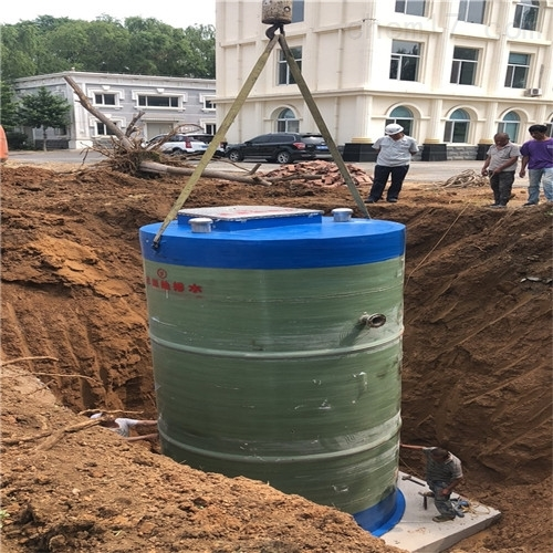 地埋式污水预制泵站