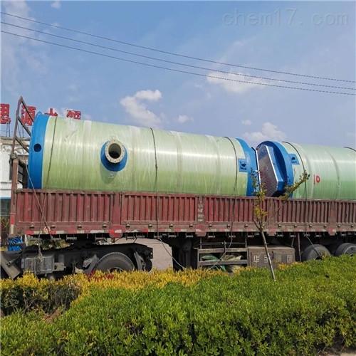地埋式污水预制泵站全面的应用领域