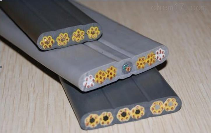 YFFBJ 带钢丝抗拉扁平电缆