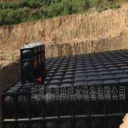 地埋式消防箱泵一体化水箱现场安装
