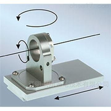 安裝控制臺用于激光二極管光束