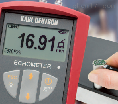 德国KD 1076超声波测厚仪