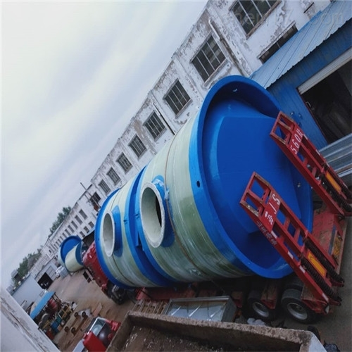 智能预制污水泵站一体化安装步骤